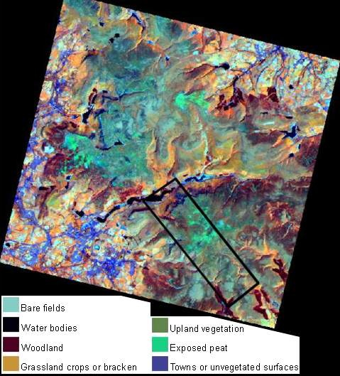 what is a landsat map