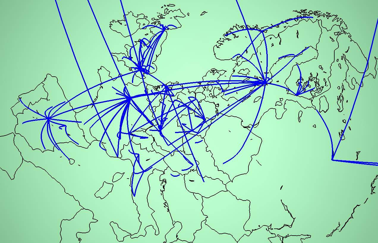 Mapping Cyberspace Using Geographic Metaphors
