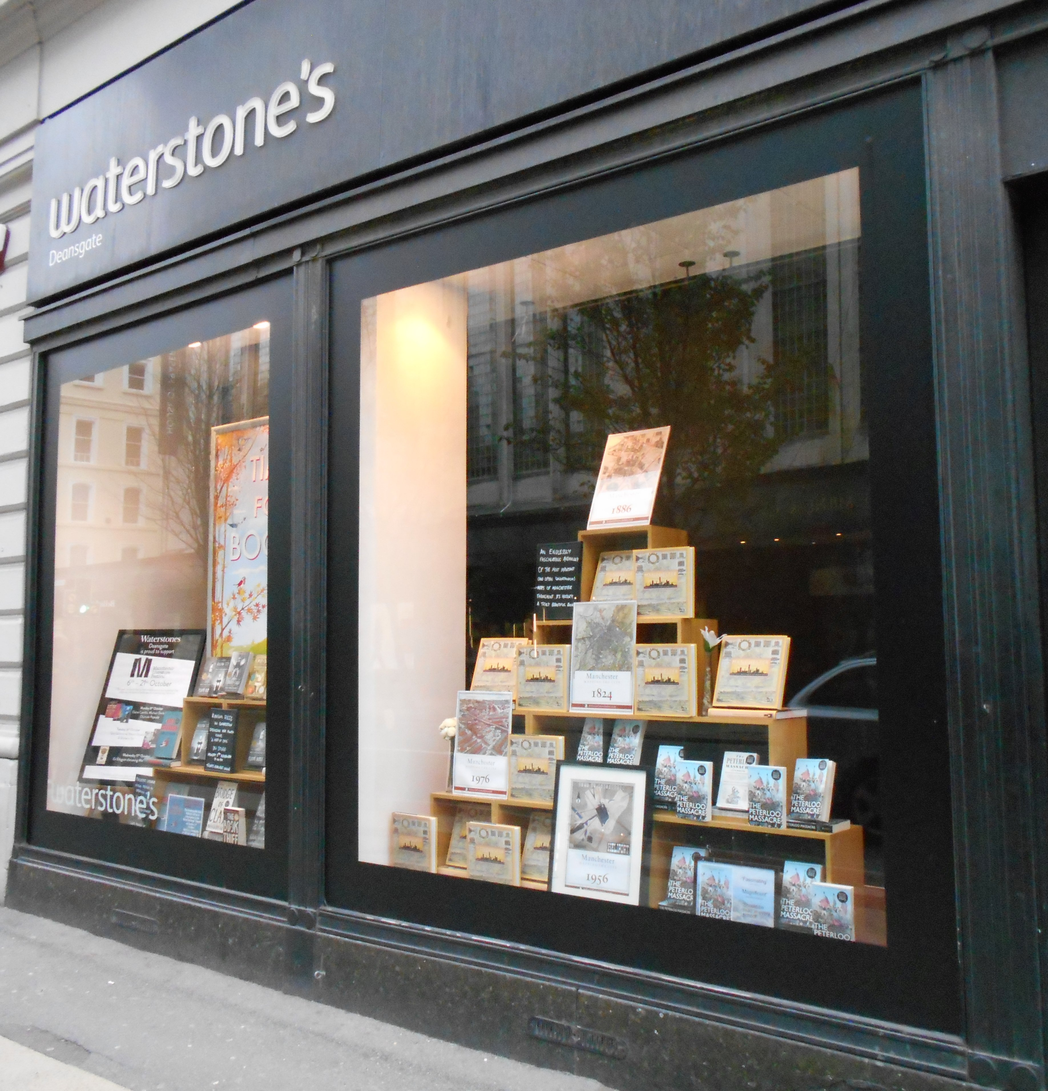 Waterstones window display
