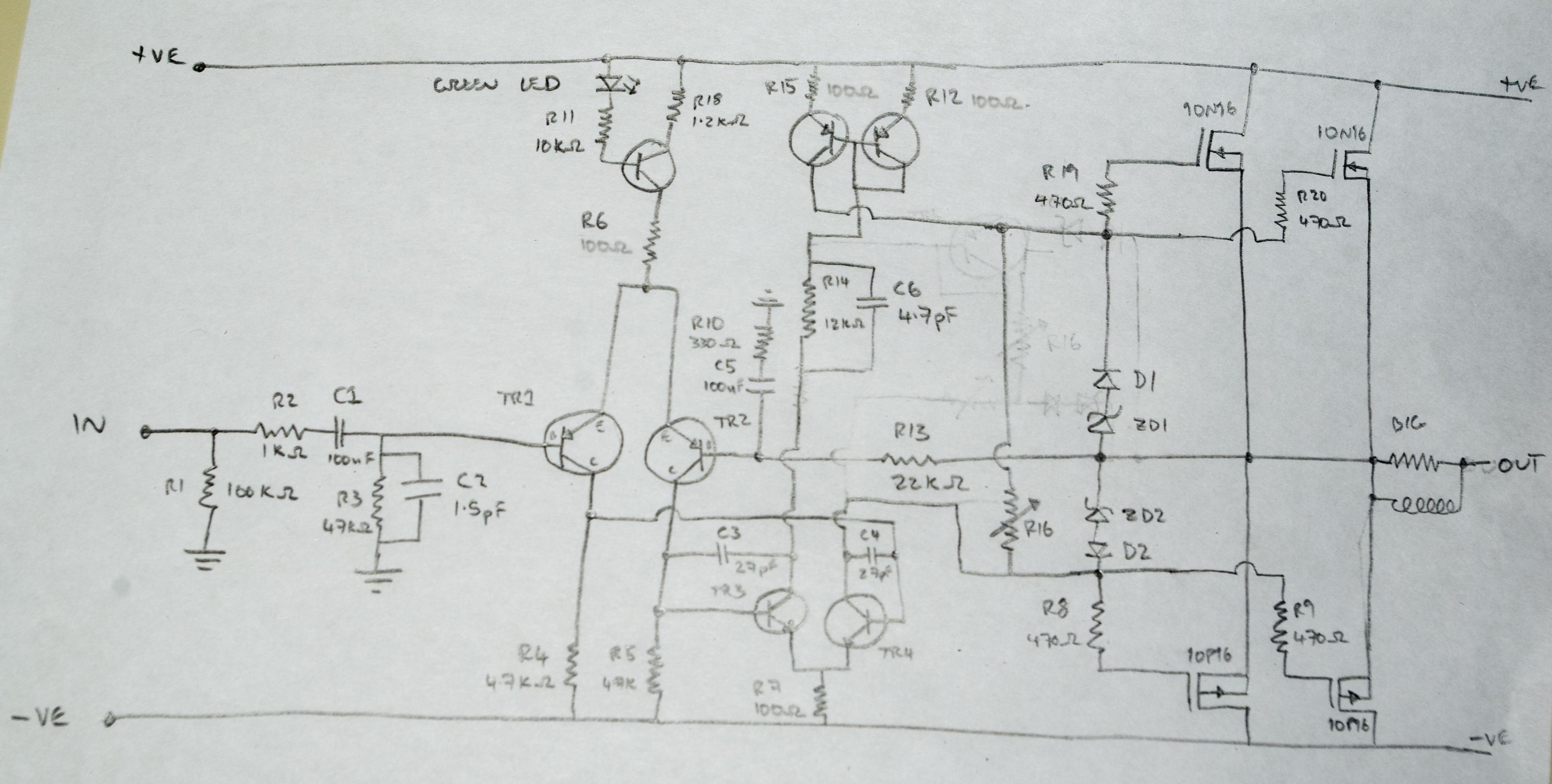 Ungewöhnlich Ampere Schaltplan Fotos - Der Schaltplan ...